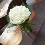 Νυφική Ανθοδέσμη Βig White Rose