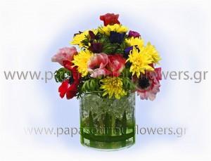 Σύνθεση με Λουλούδια 3