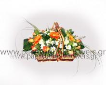 Καλάθι με Λουλούδια 10