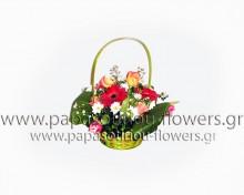 Καλάθι με Λουλούδια 11