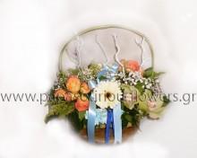 Καλάθι με Λουλούδια 12