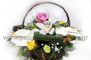 Καλάθι με Λουλούδια 14