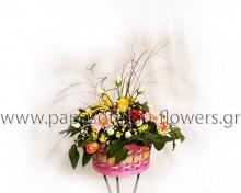 Καλάθι με Λουλούδια 15