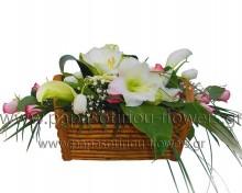 Καλάθι με άνθη 3