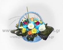 Καλάθι με Λουλούδια 6
