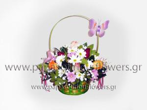 Καλάθι με Λουλούδια 7