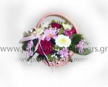 Καλάθι με Λουλούδια 9