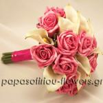 pinkkalarosesbouquet
